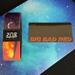 Zox - Big Bad Red - Wristband Strap